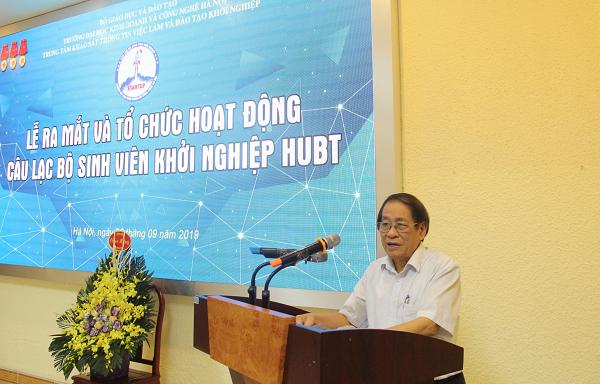Sự kiện - Ra mắt Câu lạc bộ Sinh viên Khởi nghiệp HUBT